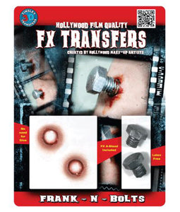 Frank-N-Bolts - 3D FX Tinsley Large Transfers