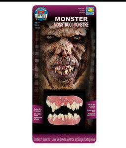 Monster Teeth - 3D FX Tinsley Transfers