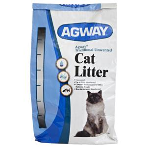 AGWAY® TRADITIONAL UNSCENTED CAT LITTER