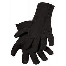 Neoprene Work Gloves, Black Fleece, Men's L