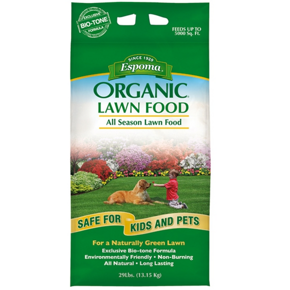 Espoma Organic All Season Lawn & Garden Food 29 lb