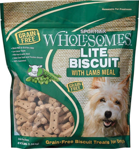SPORTMiX Wholesomes Lite Biscuits with Lamb Meal Grain Free Dog Treats