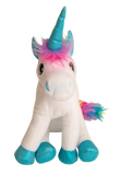 Snugarooz Rainbow the Unicorn Plush Dog Toy
