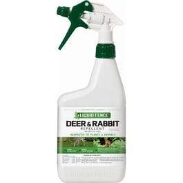 Deer & Rabbit Repellent, Ready-to-Use, 32-oz.