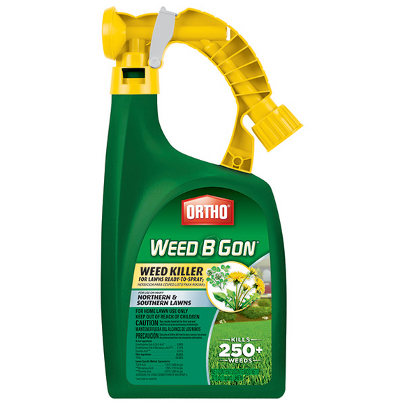 ORTHO WEED B GON WEED KILLER FOR LAWNS READY-TO-SPRAY