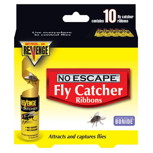 REVENGE NO ESCAPE FLY CATCHER RIBBONS 10 PACK