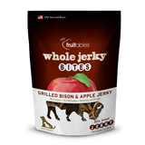 Fruitables Whole Jerky Bites Grilled Bison & Apple Dog Treats