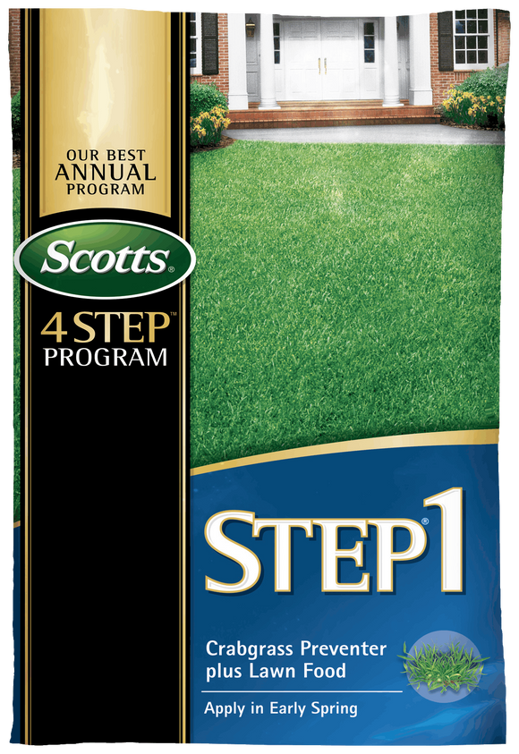 Scotts® STEP® 1 - Crabgrass Preventer Plus Lawn Food