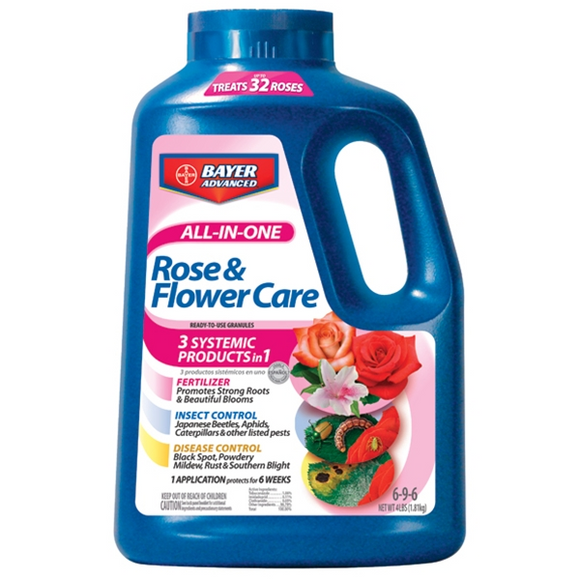 BAYER ADVANCED ALL-IN-ONE ROSE & FLOWER CARE GRANULES