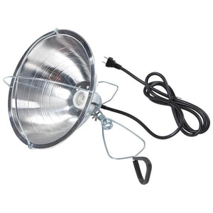 LITTLE GIANT BROODER REFLECTOR LAMP WITH CLAMP