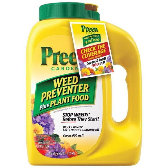 PREEN WEED PREVENTER PLUS PLANT FOOD