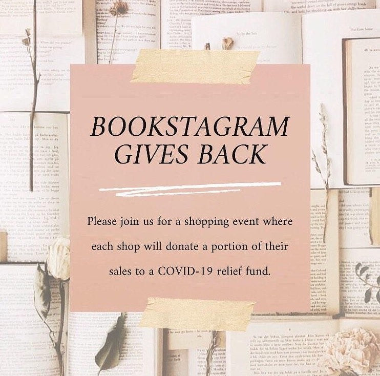 Bookstagram Gives Back