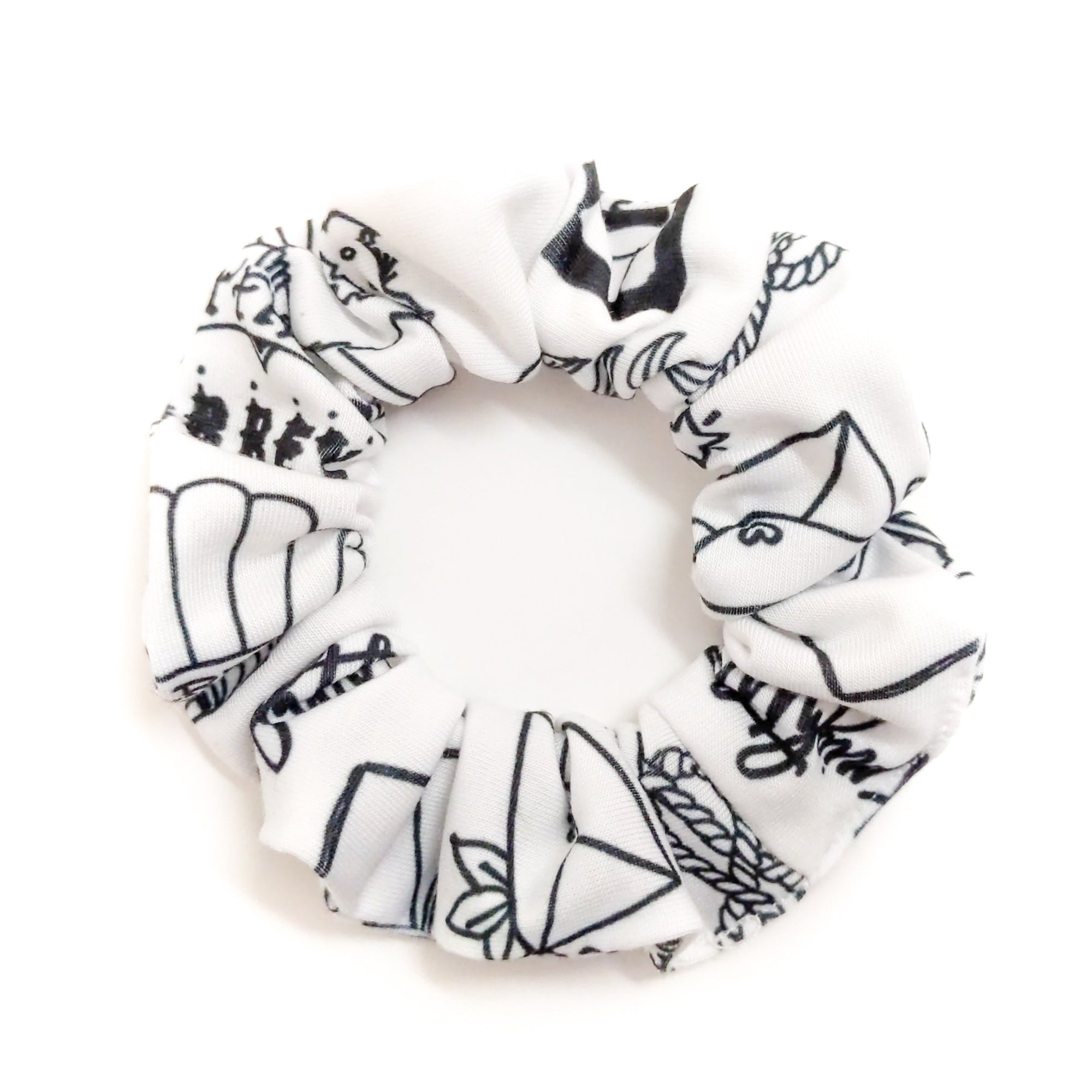 Jane Austen Books Scrunchie