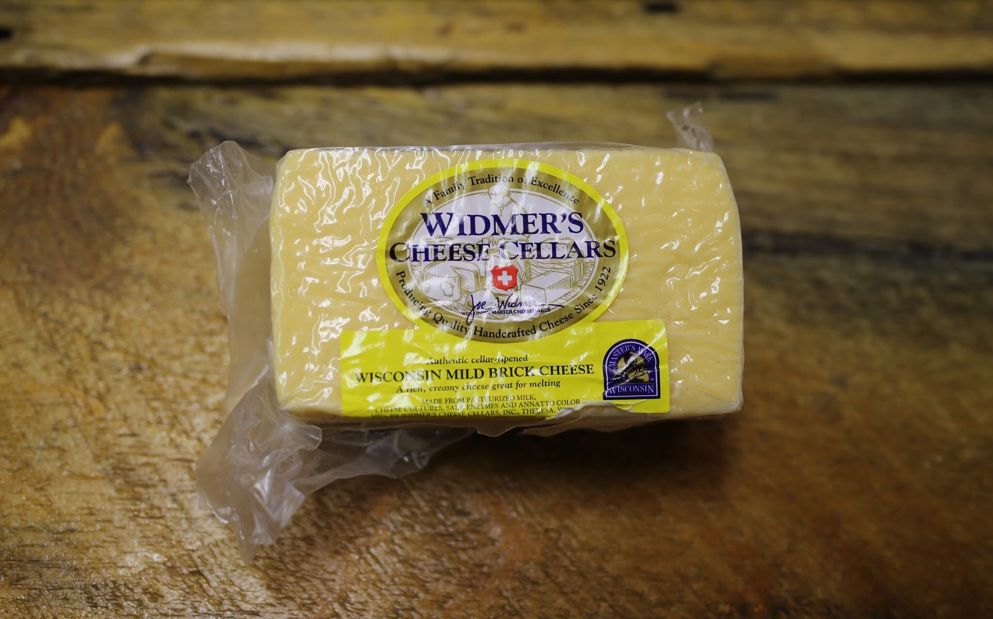 Wisconsin Mild Brick Cheese - Widmer's