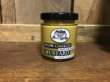 Slow Mustard sweet and Tangy - East Shore Specialty Foods