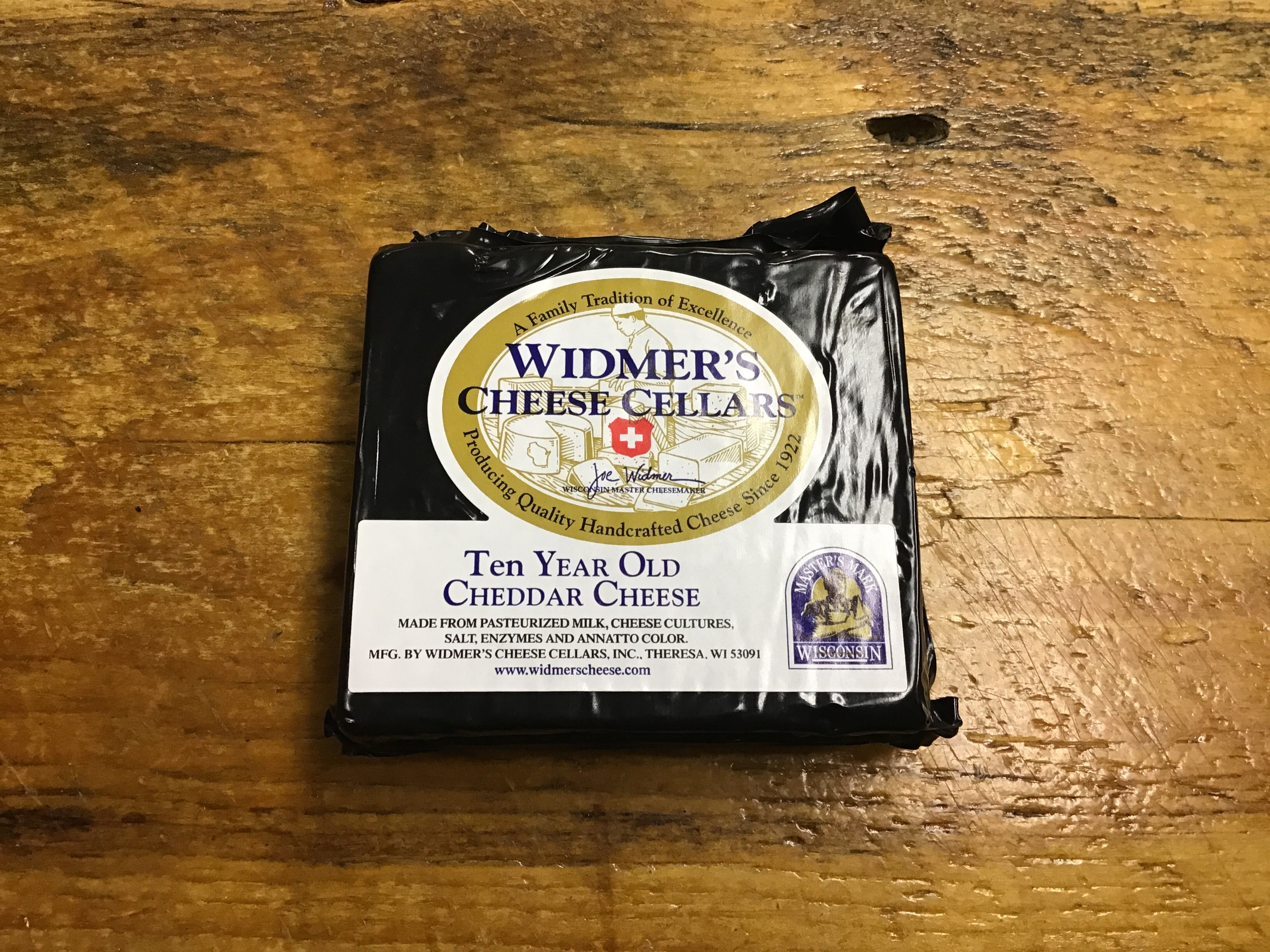 Ten Year Old Cheddar Cheese Widmer's