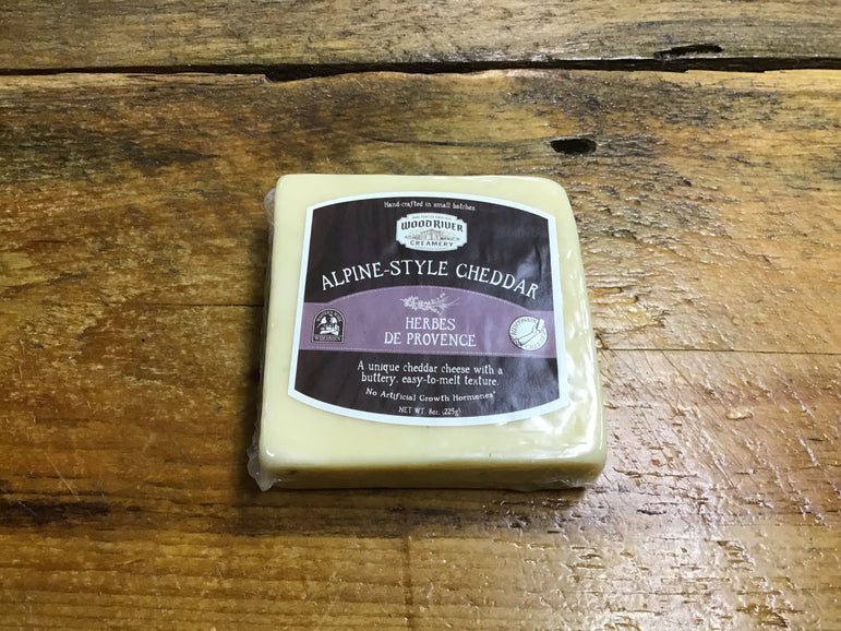 Alpine - Style Cheddar Herbes De Provence - Wood River