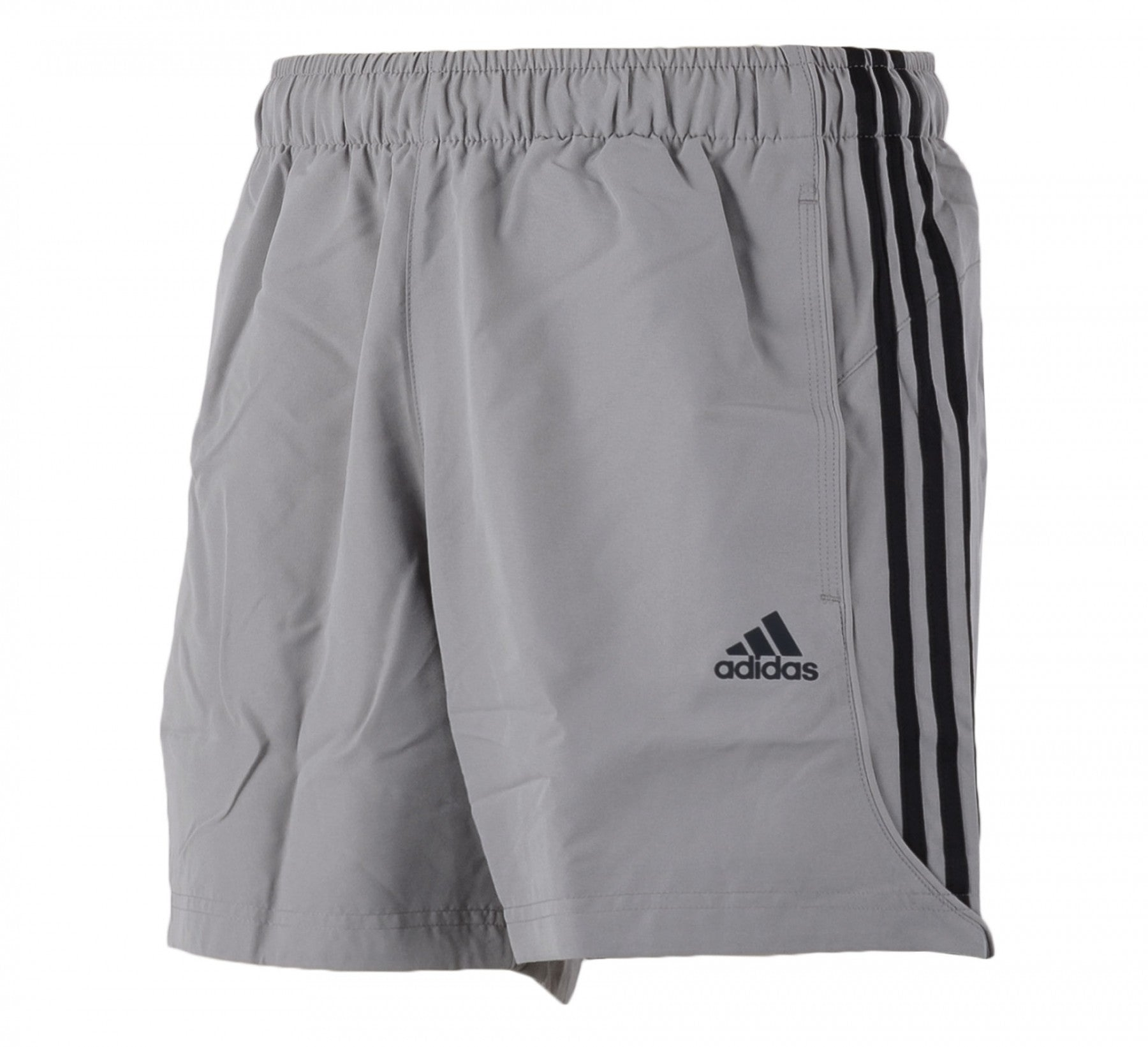 Adidas ESS 3-Stripe Chelsea Shorts Mens Climate Grey