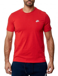 Nike t-shirt, red t-shirt, red tee, red top, mens t-shirt, nike, nike swoosh, nike red top, nike mens sports top sports t-shirt mens, red tee, nike core red