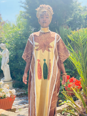 Mama Africa Promotion One Wear Freedom Vintage Linen Caftan