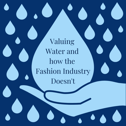 Valuing Water and how the Fashion Industry Doesn't title image