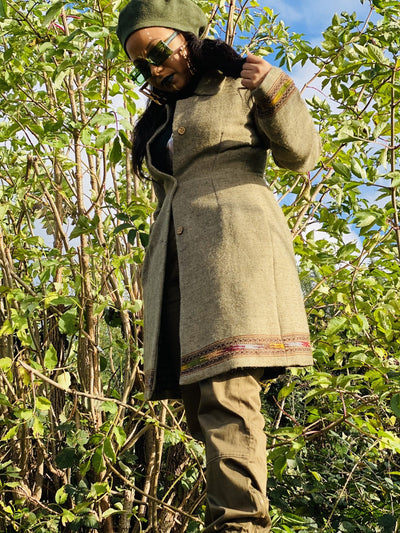 Afghan Moss Coat - One Wear Freedom #product_tags#