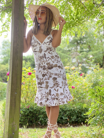 Hyacinth + Bark Strappy Dress - One Wear Freedom - Front Main