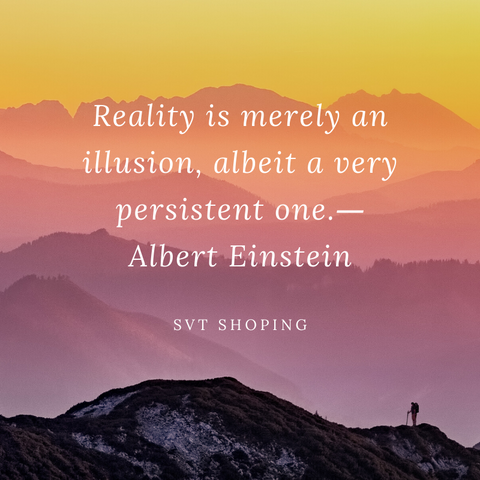 "Albert Einstein Quotes ""Reality is merely an illusion, albeit a very persistent one"""