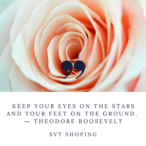 "Theodore Roosevelt Quotes ""Keep your eyes on the stars and your feet on the ground."""