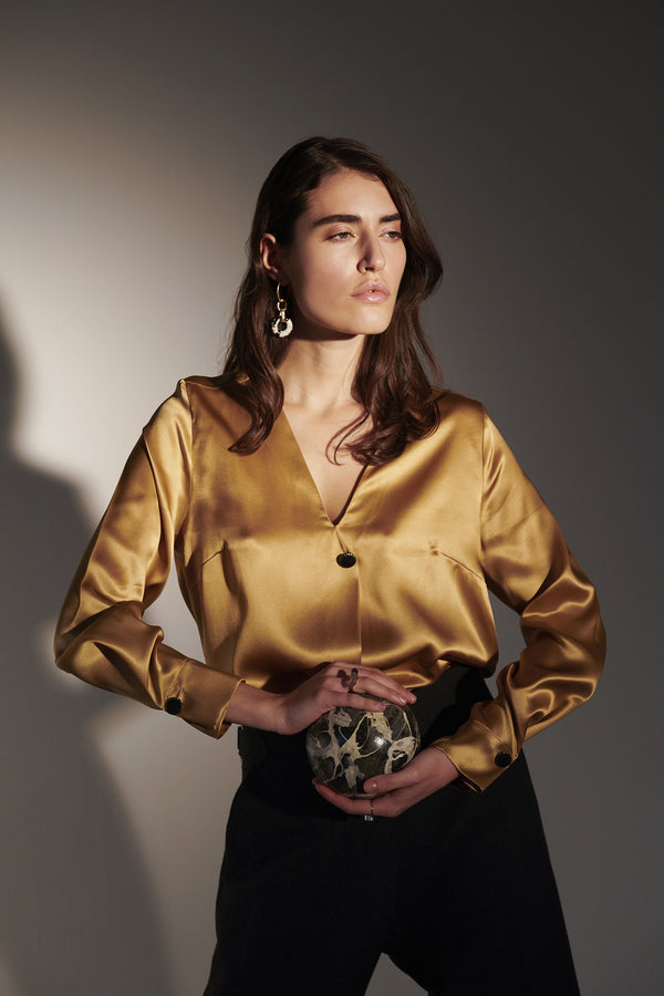 BOTTONI PREZIOSI BLOUSE