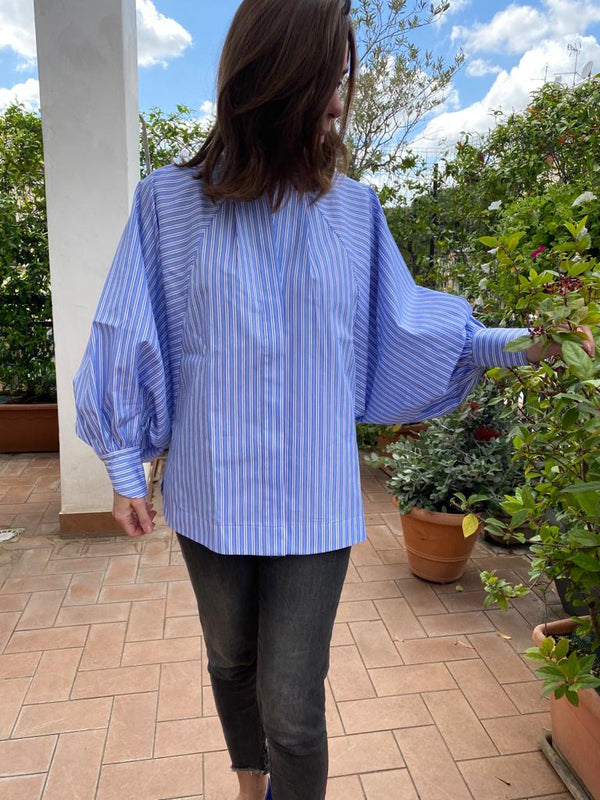 TRAMONTANA BLOUSE A RIGHE