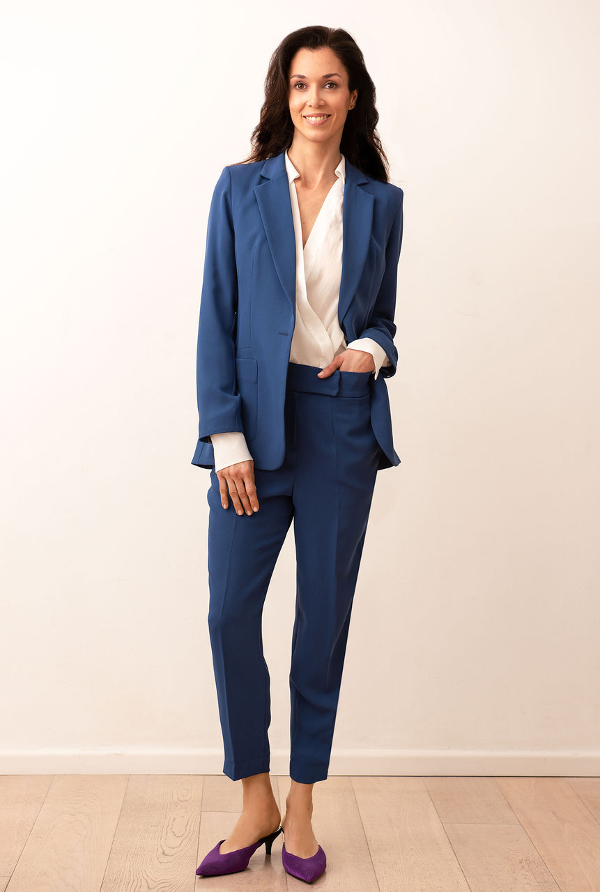 Suit Blue Indaco