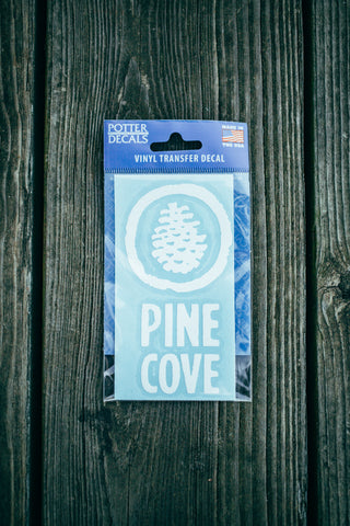 Car Decal Pine Cove