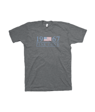 Load image into Gallery viewer, Gray Americana Tee