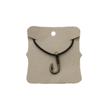 Load image into Gallery viewer, Necklace Fish Hook