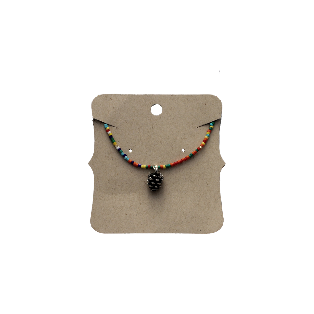 Necklace Multi Beaded PC Charm