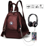 Backpack for girls by Deal Especial (Brown)