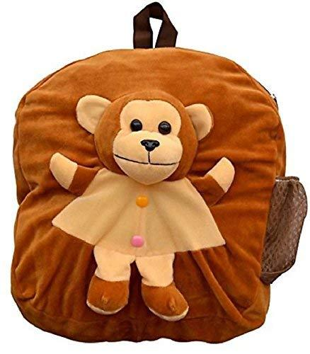 Soft Synthetic Toy Beautiful Nursery Play School Bag for Boys and Girls (3 to 4 Years, 14-inch) by Deal Especial - Deal Especial