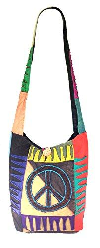 Canvas hippies bag