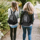 Backpack for girls by Deal Especial (Black)