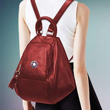 Backpack for girls by Deal Especial (Cherry)