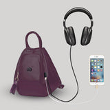 Backpack for girls by Deal Especial (Purple)