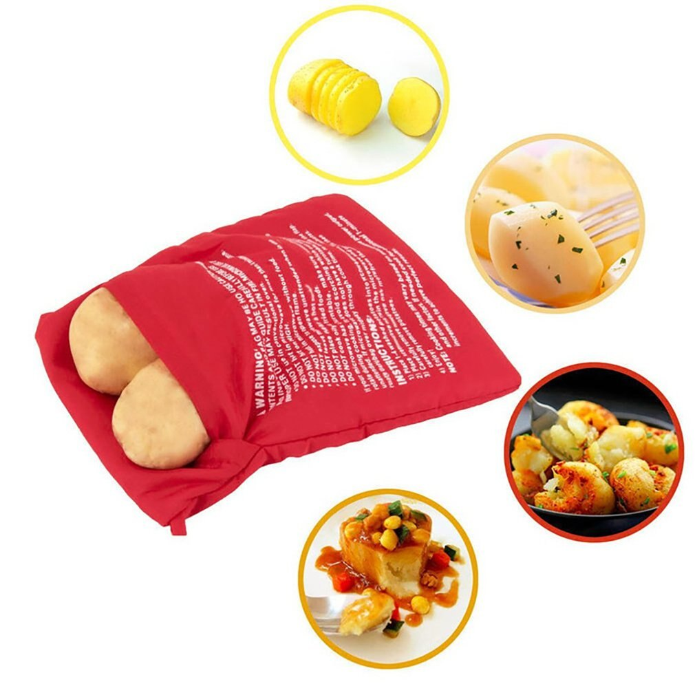 3pcs Microwave Potato Cooker Bag