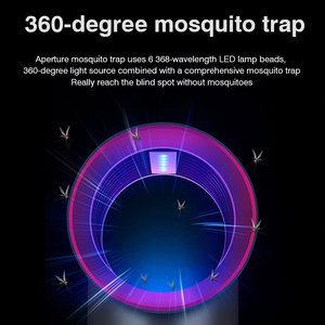 USB Electric Mosquito Killer Lamp Photocatalysis Mute Home LED Insect Trap