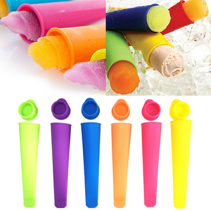 Colorful Silicone Ice Pop Mold Set 2PCS