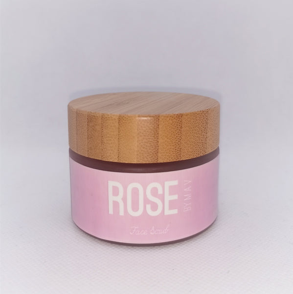 ROSE by M A V - Face Scrub