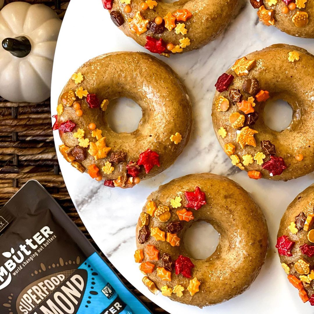 Superfood Almond Butter Donuts
