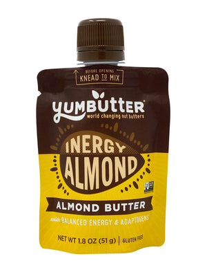 Ancient Inergy Almond Butter (10-Pack Mini Pouches)