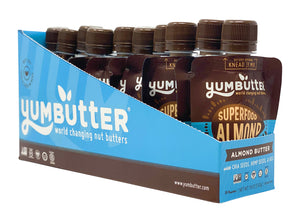 Superfood Almond Butter (10-Pack Mini Pouches)