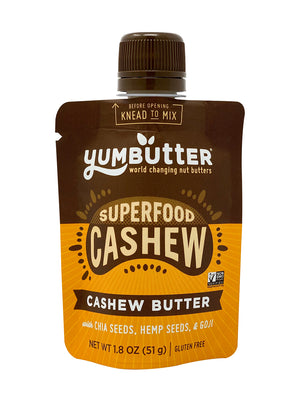 Superfood Cashew Butter (10-Pack Mini Pouches)